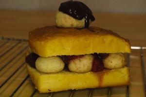 クッキーサンドケーキ