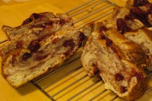 イチゴジャム食パン