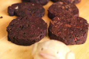 ココアクッキー二種